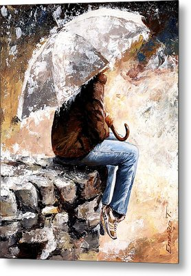 Rain Day Metal Print by Emerico Imre Toth