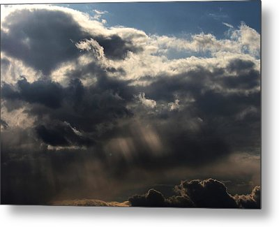 Metal Print featuring the photograph Rain by Erica Hanel