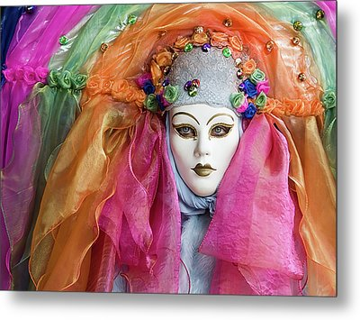 Metal Print featuring the photograph Rainbow Girl by Stefan Nielsen