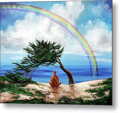 Rainbow Of Hope Metal Print