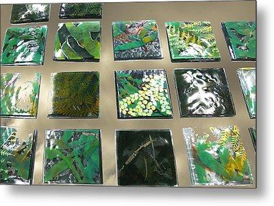 Rainforest Tile Prints Metal Print by Sarah King