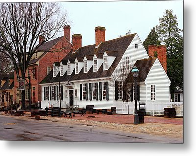 Raleigh Tavern 2 Metal Print by Lou Ford