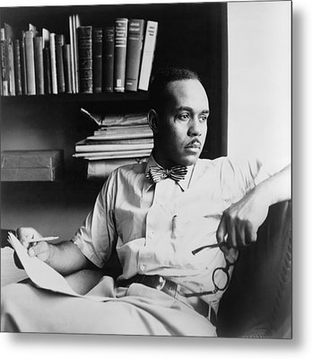 Ralph Ellison 1914-1994, Author Metal Print by Everett