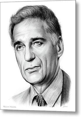 Ralph Nader Metal Print