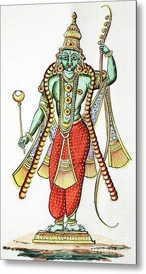 Rama, 7th Avatar Of Vishnu Metal Print