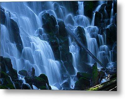 Ramona Falls In Close Metal Print