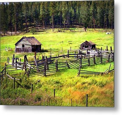 Ranch Land Metal Print by Marty Koch