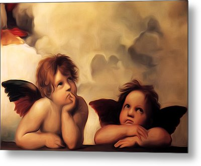 Raphael's Cherubs Metal Print by Bill Cannon