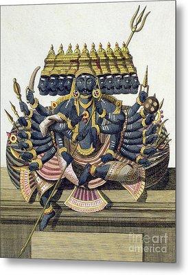 Ravana, Demon King Of Ceylon Metal Print