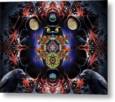 Raven Moon #2 Metal Print
