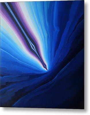 Re-entry Metal Print