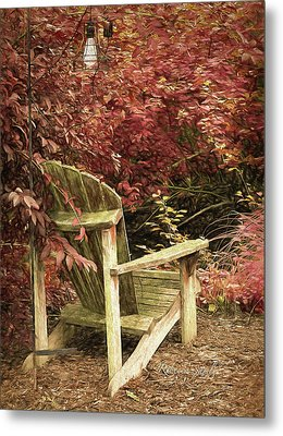 Reading Nook Metal Print