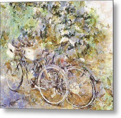 Ready To Ride Metal Print by Shirley Stalter