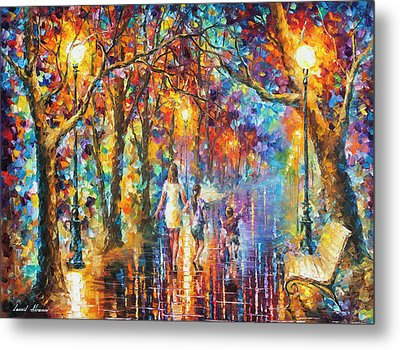 Real Dreams   Metal Print by Leonid Afremov