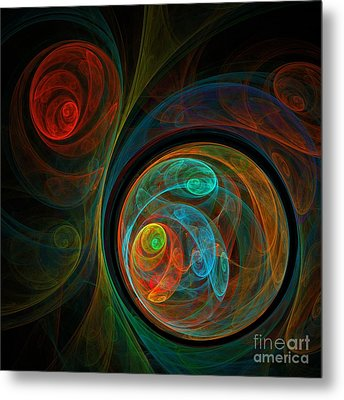 Rebirth Metal Print by Oni H