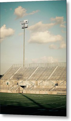 Metal Print featuring the photograph Recalling High School Memories by Trish Mistric