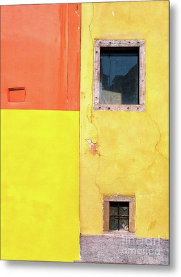 Metal Print featuring the photograph Rectangles by Silvia Ganora