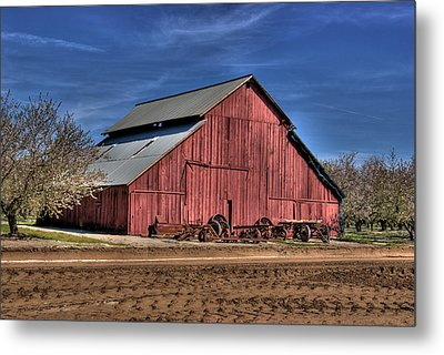 Metal Print featuring the photograph Red Barn by Jim and Emily Bush