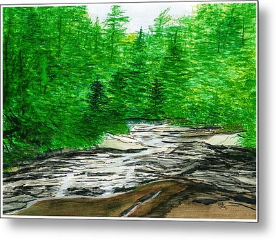 Red Creek Metal Print