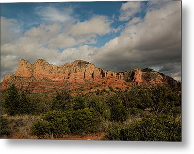 Metal Print featuring the photograph Red Rock Country Sedona Arizona 3 by David Haskett