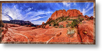 Red Rock Spirit 2 Metal Print by ABeautifulSky Photography