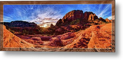 Red Rock Spirit Metal Print by ABeautifulSky Photography