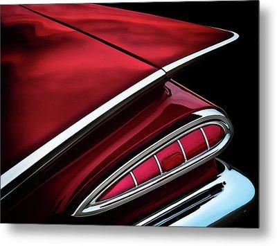 Red Tail Impala Vintage '59 Metal Print by Douglas Pittman