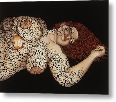 Redemption Metal Print by Tina Blondell