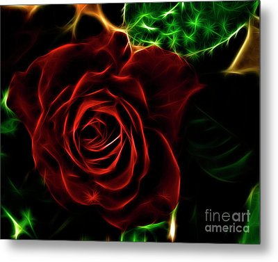 Red's Passion Metal Print