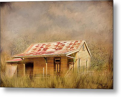 Metal Print featuring the photograph Redundant by Wallaroo Images