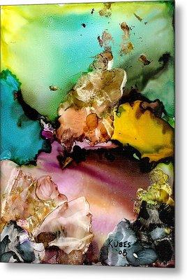 Reef 3 Metal Print by Susan Kubes