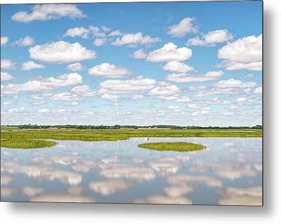 Reflected Clouds - 02 Metal Print