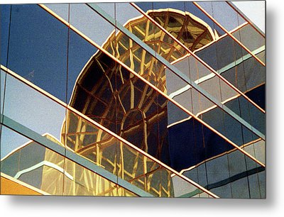 Metal Print featuring the photograph Reflection by John Schneider