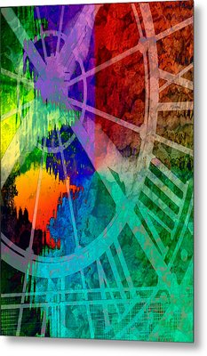 Reflection Of Time Metal Print by Brian Roscorla