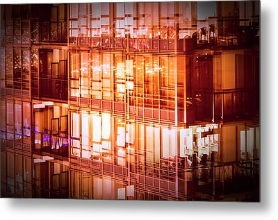 Reflectionary Phase Metal Print by Amyn Nasser