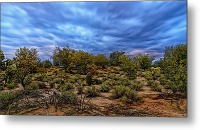 Metal Print featuring the photograph Rejuvenation Op19 by Mark Myhaver
