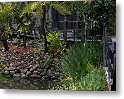 Relaxing House Metal Print by Ivete Basso Photography