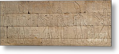 Relief From The Temple Of Dendur Metal Print
