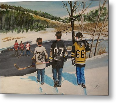 Rematch 2008 Metal Print by Ron  Genest
