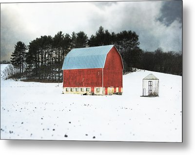Rembering The Good Old Days Metal Print by Julie Hamilton