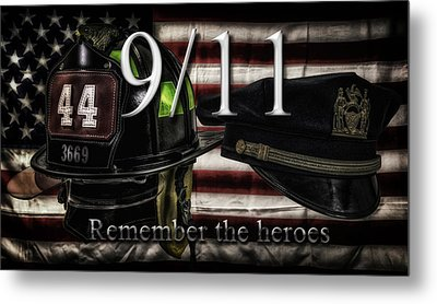 Remember The Heroes Metal Print