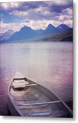 Metal Print featuring the photograph Remembering Lake Mcdonald by Heidi Hermes