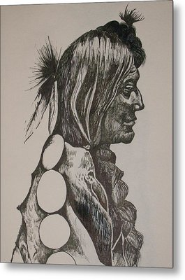 Reservation Metal Print by Leslie Manley