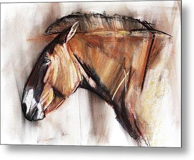 Resting Horse Metal Print