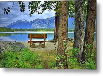 Metal Print featuring the photograph Resting Place At Lake Annette by Tara Turner