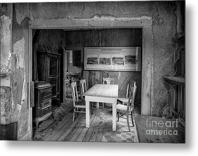 Returning To The Past Metal Print by Sandra Bronstein