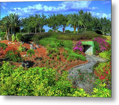 Metal Print featuring the photograph Reunion Resort  by Tom Prendergast