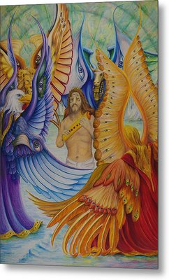 Revelation Five Metal Print by Rick Ahlvers