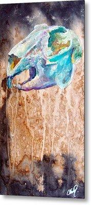 Revolution Jack Rabbit Metal Print by Christy  Freeman