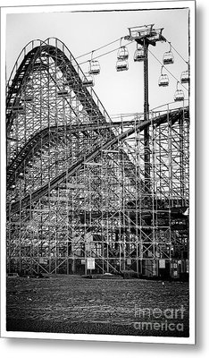 Ride At Your Own Risk Metal Print by John Rizzuto